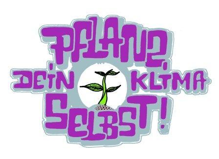 Pflanz dein Klima selbst Logo